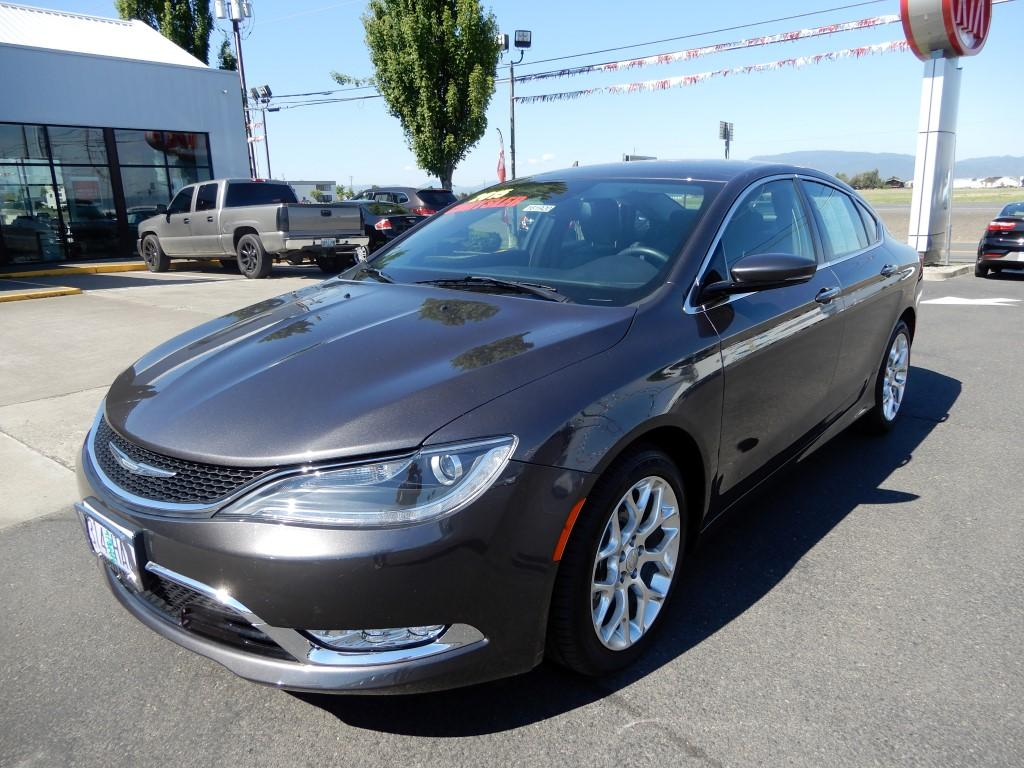 Pre-Owned 2015 Chrysler 200 C 4 Door Sedan in Ashland #161920 ...