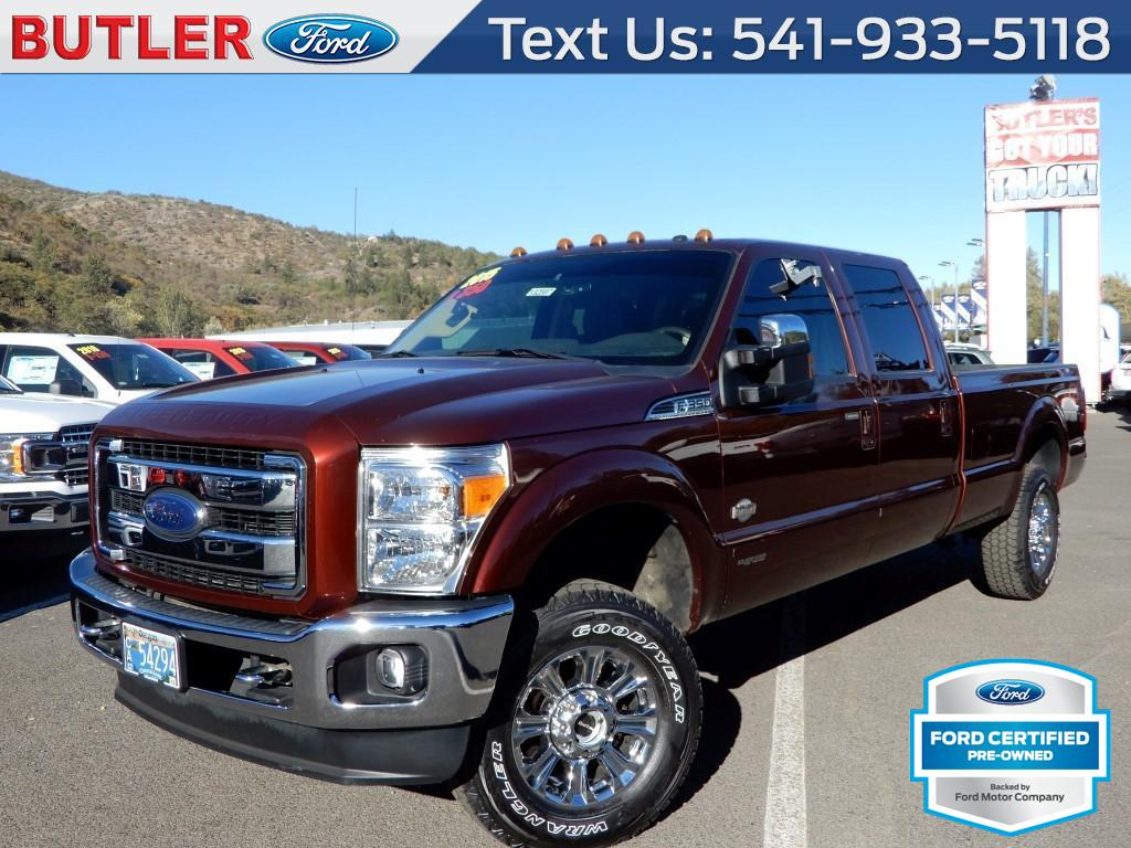Pre owned 2015 ford f 350 super duty king ranch