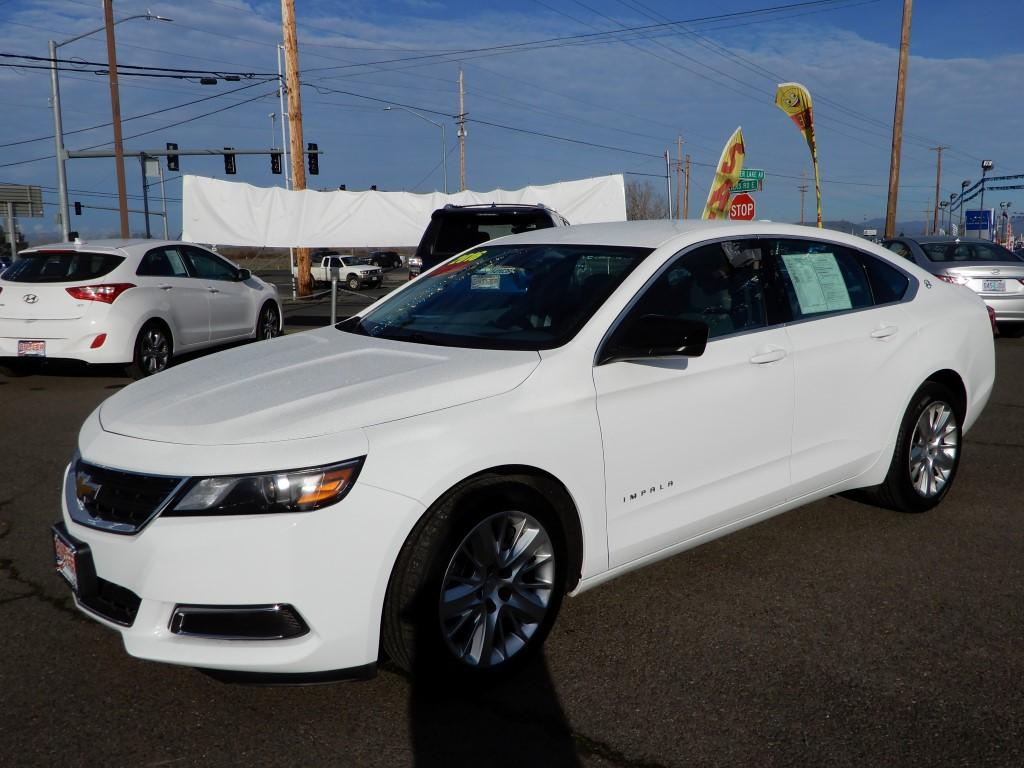 Pre-Owned 2016 Chevrolet Impala LS (1LS) & Pre-Owned 2016 Chevrolet Impala LS (1LS) 4 Door Sedan in Ashland ...