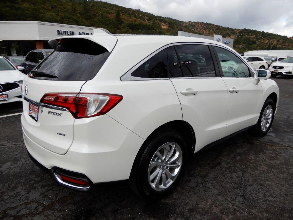 New 2018 Acura Rdx Awd With Technology Package 4 Door