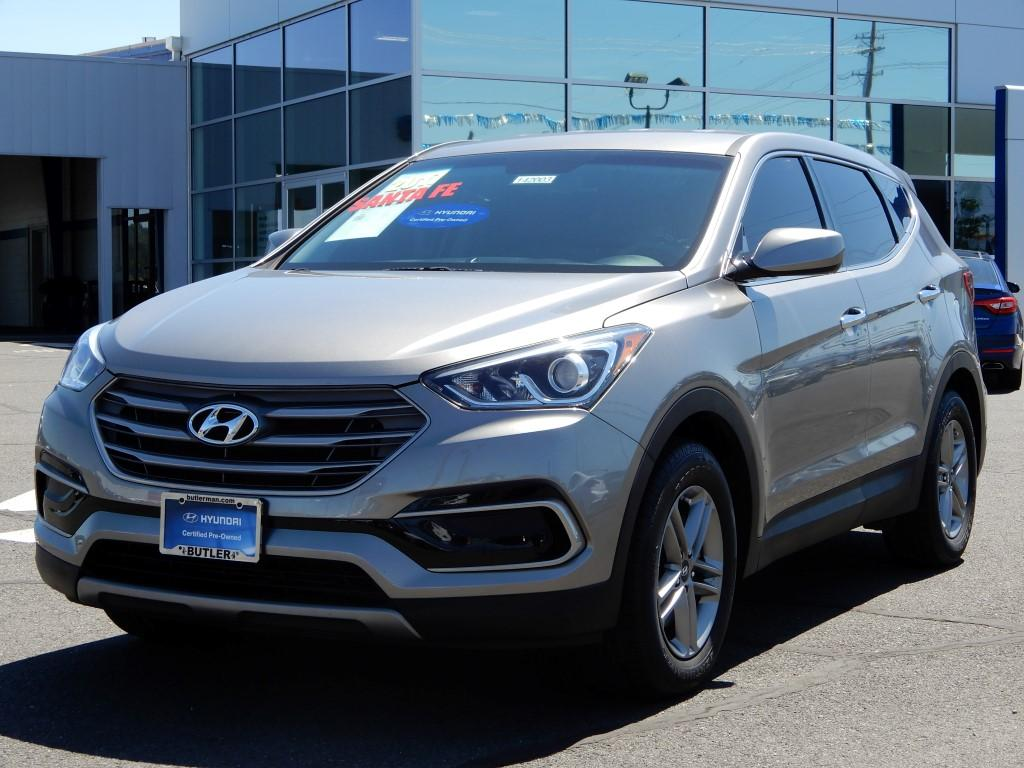 Pre-Owned 2017 Hyundai Santa Fe Sport Base