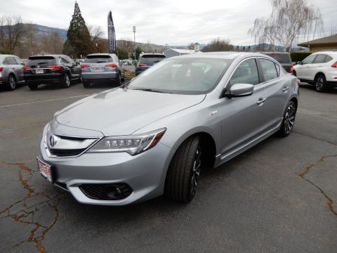 New 2018 Acura ILX with Premium and A-SPEC Package 4 Door Sedan