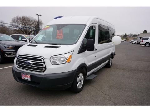 Pre-Owned 2018 Ford Transit Wagon T-350 Med Roof Slide XL