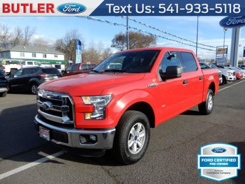 Pre-Owned 2016 Ford F-150 XLT 4 Door Cab; Styleside; Super Crew