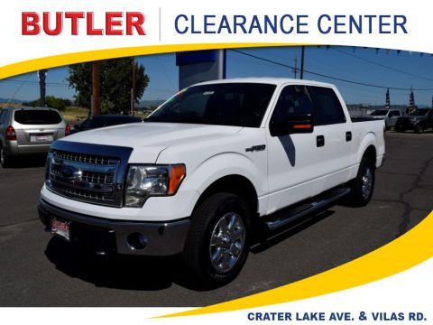 Pre-Owned 2014 Ford F-150 4 Door Cab; Styleside; Super Crew