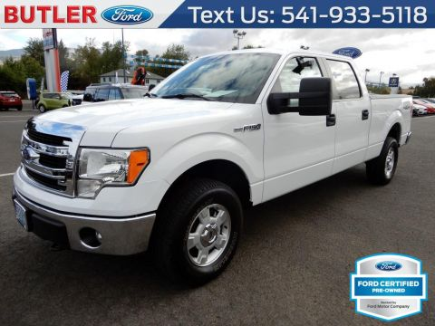 Pre-Owned 2014 Ford F-150 XLT 4 Door Cab; Styleside; Super Crew