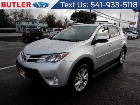 Pre-Owned 2015 Toyota RAV4 Limited 4 Door Wagon