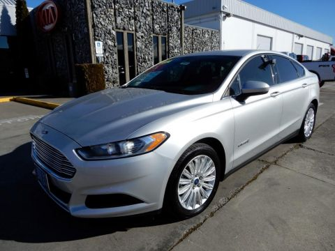Pre-Owned 2014 Ford Fusion S Hybrid 4 Door Sedan