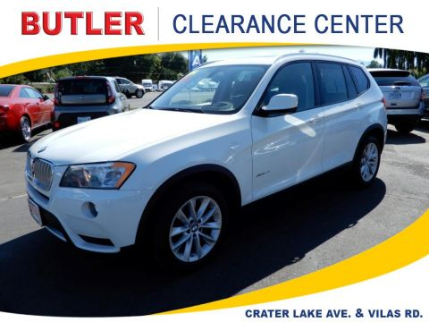 Pre-Owned 2014 BMW X3 xDrive28i 4 Door Wagon